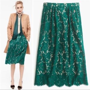 J.Crew Lace Skirt